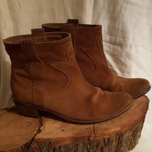 Lucky Brand Suede Boots/Booties